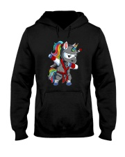 Unicorn Ninja 2308 Hooded Sweatshirt thumbnail