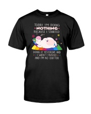 Unicorn nothing Classic T-Shirt thumbnail