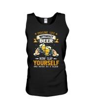 Beer Slap Unisex Tank thumbnail