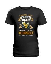 Beer Slap Ladies T-Shirt thumbnail