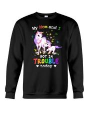 Unicorn mom and I 2409 Crewneck Sweatshirt thumbnail