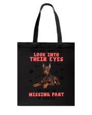 Doberman Pinscher Eyes 1406 Tote Bag thumbnail