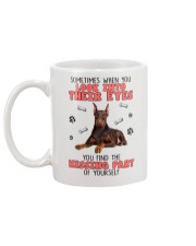 Doberman Pinscher Eyes 1406 Mug back