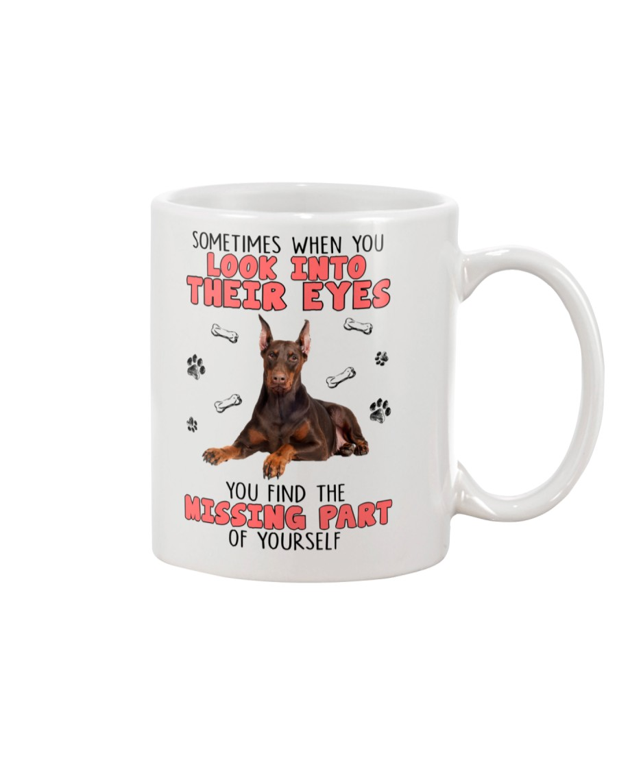 Doberman Pinscher Eyes 1406 Mug