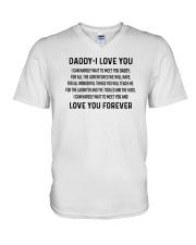 Daddy I love you 1406L V-Neck T-Shirt thumbnail