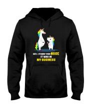 Unicorn nose 1411 Hooded Sweatshirt thumbnail