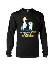 Unicorn nose 1411 Long Sleeve Tee thumbnail