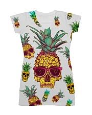 Pineapple Skull  All-over Dress thumbnail