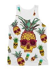Pineapple Skull  All-over Unisex Tank front
