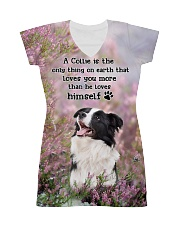 Border Collie - Love you than himself 1806P All-over Dress thumbnail