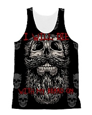 Beard - I will 206L All-over Unisex Tank front