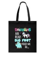 THEIA Bigfoot Unicorn 2606 Tote Bag thumbnail