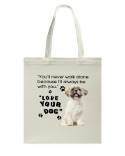 Shih Tzu With You Tote Bag thumbnail