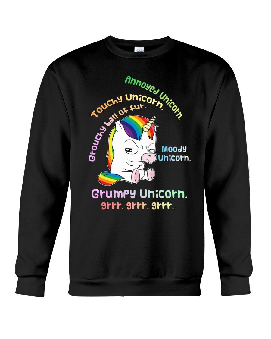 Unicorn Annoyed 0712 Crewneck Sweatshirt