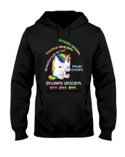Unicorn Annoyed 0712 Hooded Sweatshirt thumbnail