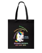 Unicorn Annoyed 0712 Tote Bag thumbnail