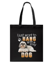 Shih Tzu My Dog Tote Bag thumbnail