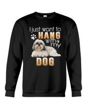 Shih Tzu My Dog Crewneck Sweatshirt thumbnail