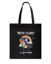 Unicorn Ride Hard Tote Bag thumbnail