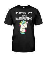 Unicorn Masturbating  Classic T-Shirt thumbnail