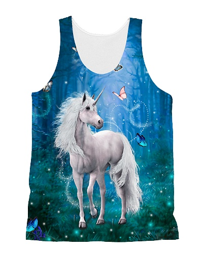 Unicorn in forest 1406