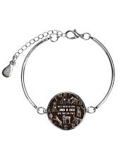 Cane Corso - All I need is love 1606P Metallic Circle Bracelet thumbnail