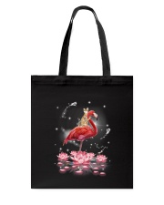 Cat Ride Flamingo Tote Bag thumbnail