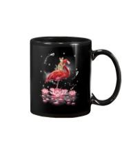 Cat Ride Flamingo Mug thumbnail