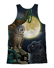 Owi and Black Cat 2006 All-over Unisex Tank back