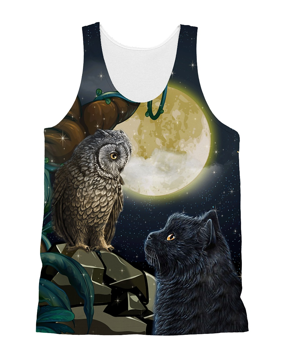 Owi and Black Cat 2006 All-over Unisex Tank