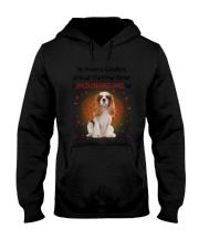 Cavalier King Charles Spaniel Feet 2106 Hooded Sweatshirt thumbnail