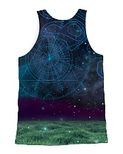 Staffy in the magic world 1806D All-over Unisex Tank back