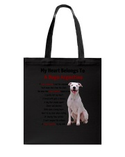 Dogo Argentino - My heart belongs to 1406L Tote Bag thumbnail