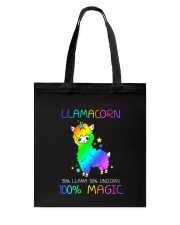 Llamacorn 0509 Tote Bag tile