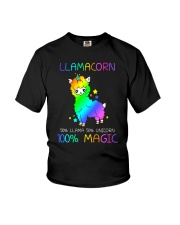 Llamacorn 0509 Youth T-Shirt thumbnail