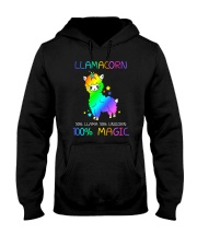 Llamacorn 0509 Hooded Sweatshirt thumbnail