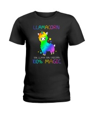 Llamacorn 0509 Ladies T-Shirt thumbnail