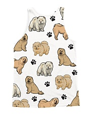 Chow Chow puppies 2405P All-over Unisex Tank back