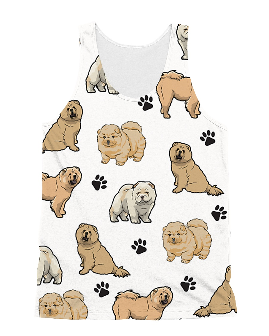 Chow Chow puppies 2405P All-over Unisex Tank