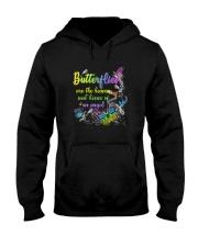 Butterfly heaven kiss 3006 Hooded Sweatshirt thumbnail