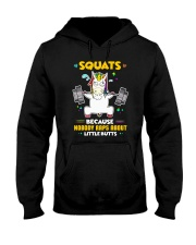 Unicorn Squats Hooded Sweatshirt thumbnail