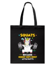 Unicorn Squats Tote Bag thumbnail