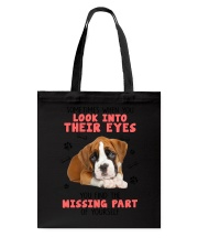 Boxer Eyes 1406 Tote Bag thumbnail