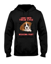 Boxer Eyes 1406 Hooded Sweatshirt thumbnail