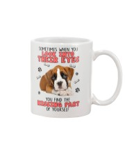 Boxer Eyes 1406 Mug tile