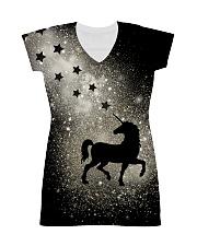 Bling light unicorn All-over Dress thumbnail