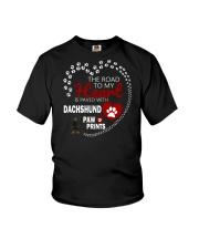 Dachshund To My Heart Youth T-Shirt thumbnail