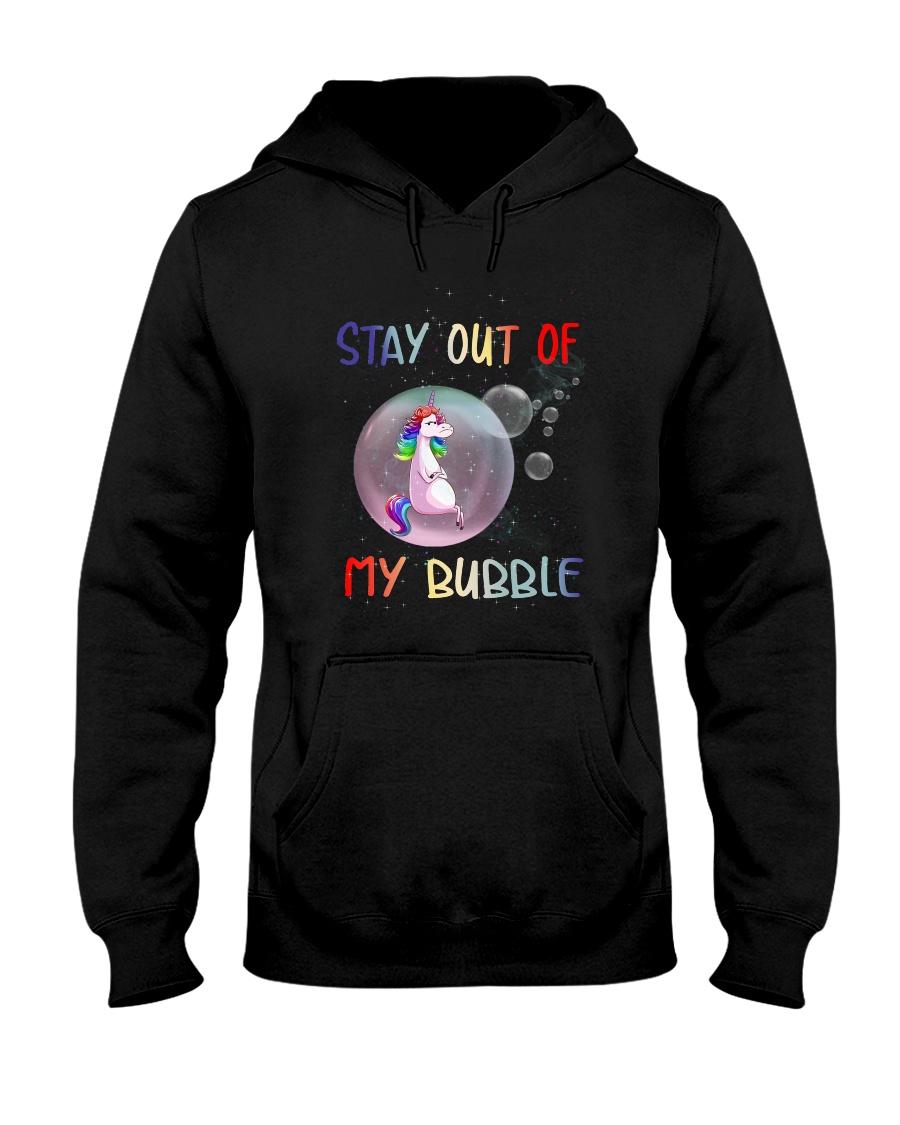 Unicorn Bubble 0410 Hooded Sweatshirt