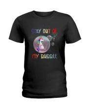 Unicorn Bubble 0410 Ladies T-Shirt thumbnail