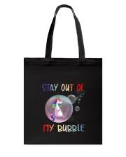 Unicorn Bubble 0410 Tote Bag thumbnail